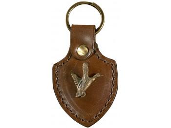 Porte Clés Cuir Et Laiton Figurine Animaux - Porte clef cuir