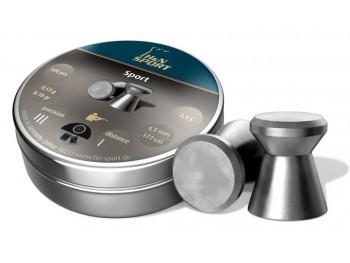 BOITE DE 400 PLOMBS H&N SPORT 5.5 mm