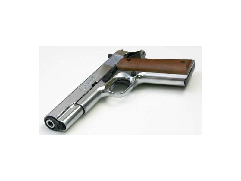 pistolet kimar 1911 auto chrom 9mm. Black Bedroom Furniture Sets. Home Design Ideas