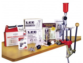 Lee Deluxe 4-Hole Turret Press Kit Hot