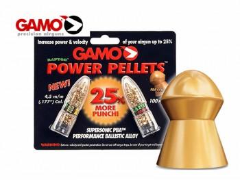 Boîte de 100 Plombs GAMO RAPTOR  4.5MM