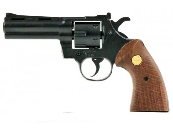 Revolver KIMAR Python 4'' Bronze 9MM/380RK crosse bois
