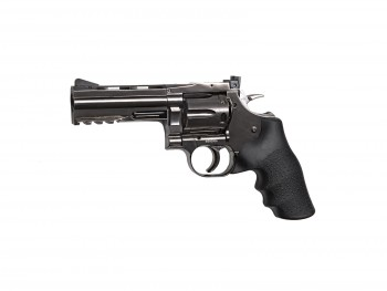 "REVOLVER DAN WESSON DW715 4"" STEEL GREY CO2 CAL 4.5BB"
