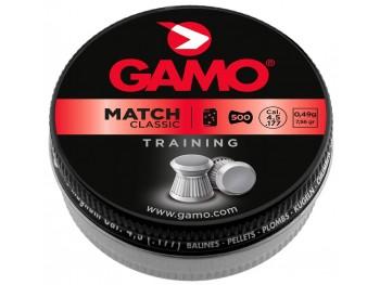 Boîte de 500 Plombs GAMO MATCH CLASSIC 4.5mm