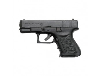 Pistolet Bruni Mini Gap noir à blanc